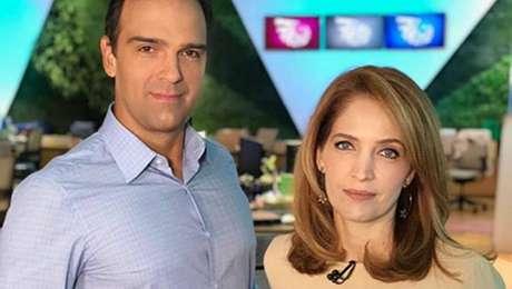 Tadeu Schmidt e Poliana Abritta, apresentadores do 'Show da Vida'