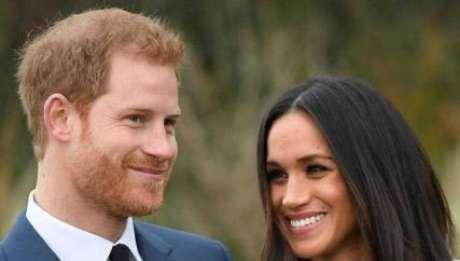 Meghan Markle está grávida de seu primeiro filho com o príncipe Harry Foto: reprodução