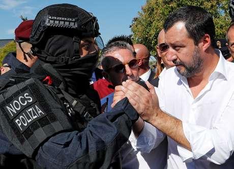 Matteo Salvini, ministro do Interior da Itália