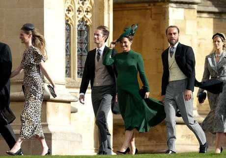 Philippa Matthews Middleton, irmã da Duquesa de Cambridge, deu à luz seu primeiro filho