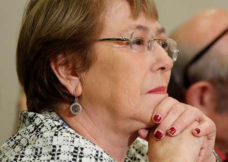 Chefe de direitos humanos da ONU, Michelle Bachelet, em Genebra 20/09/2018  REUTERS/Denis Balibouse