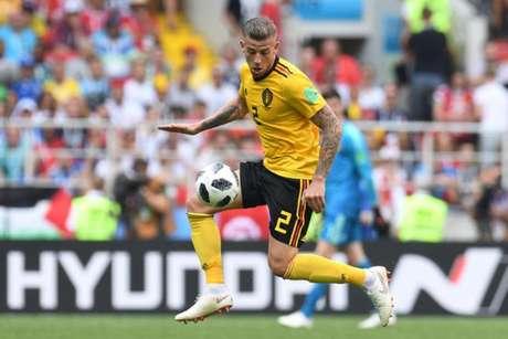 O zagueiro fez boa Copa do Mundo com a camisa da Bélgica (Foto: Adrian Dennis / AFP)