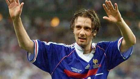 Dugarry foi campeão da Copa do Mundo de 1998 (Foto: OMAR TORRES / AFP)