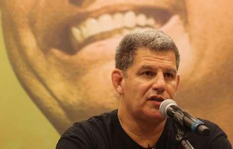 Bebianno,  durante entrevista coletiva no Rio 7/10/2018 REUTERS/Sergio Moraes