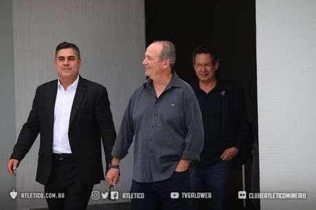 Levir chega com o respaldo da diretoria que faltou a Thiago Larghi- (Bruno Cantini Atlético-MG)