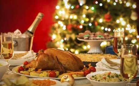 2. A escolha dos pratos da ceia de natal é tão importante quanto a decoração. Foto de GNT