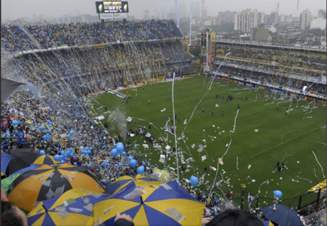 Estádio La Bombonera, do Boca Juniors