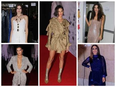 Looks das famosas no evento da Le Lis Blanc (Fotos: Francisco Cepeda/Thiago Duran/AgNews)