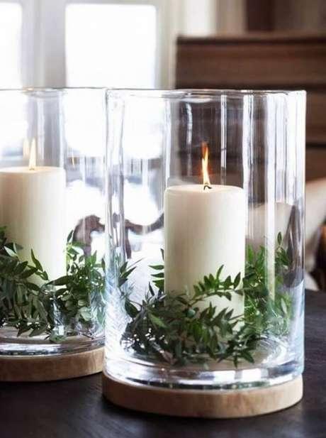 21. Arranjos de natal para decoração minimalistas ficam muito charmosos – Foto: Pinterest