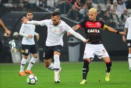 Último confronto: Corinthians 0 x 0 Vitória - 9/6/2018