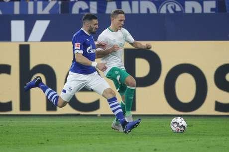 Apesar de jogar fora de casa, o Werder Bremen foi melhor que o adversário no jogo (Reprodução/Twitter)