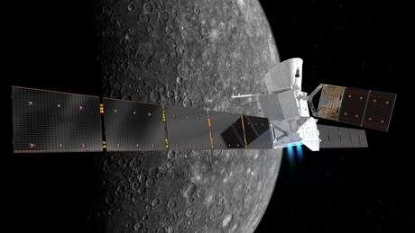 BepiColombo vai demorar sete anos para chegar a Mercúrio