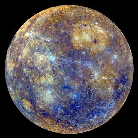 Assim como a Terra, Mercúrio tem um campo magnético, mas bem mais fraco