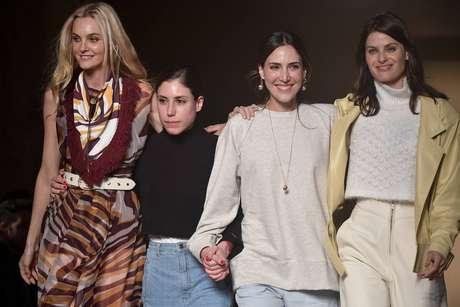 Carol Trentini, Renata Sarti, Lilly Sarti e Isabeli Fontana