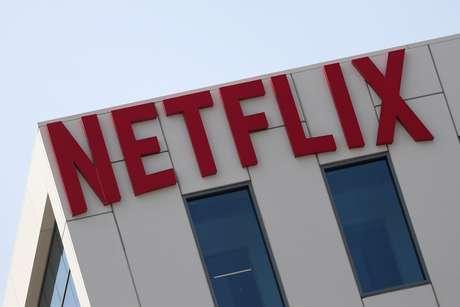 Logo da Netflix no escritório em Hollywood, Los Angeles, Califórnia, EUA 16/07/2018 REUTERS/Lucy Nicholson