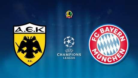 Sem Ribéry, Bayern visita o AEK Atenas pela Liga dos Campeões