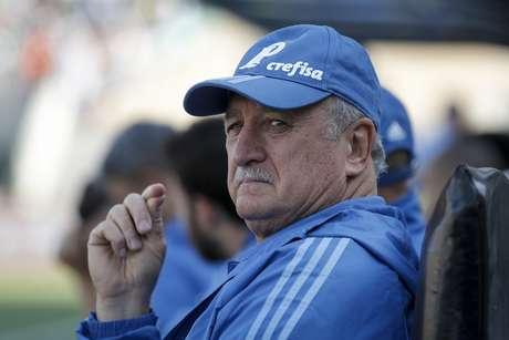 Felipão questiona arbitragem após vitória do Palmeiras