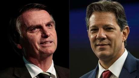 Segundo pesquisa Datafolha, Jair Bolsonaro tem 71% da preferência dos evangélicos, considerando os votos válidos, e Haddad, 29%