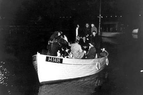 Barco de pesca usado nos resgates de judeus na Dinamarca