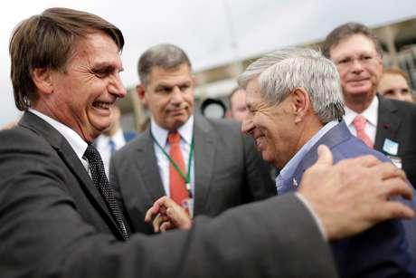 O presidente eleito Jair Bolsonaro (PSL) e o general Augusto Heleno, em ato de campanha ainda antes da eleição