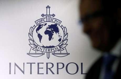 Logo da Interpol 30/09/2014 REUTERS/Edgar Su