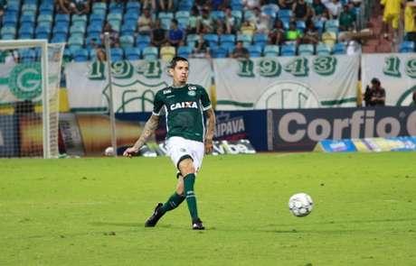 Victor Ramos afirma luta para conquistar o acesso (Foto: Divulgação/Goiás)