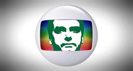 Jair Bolsonaro trava há tempos uma queda de braço com a emissora do clã Marinho