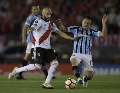 Confira as imagens de River Plate x Grêmio