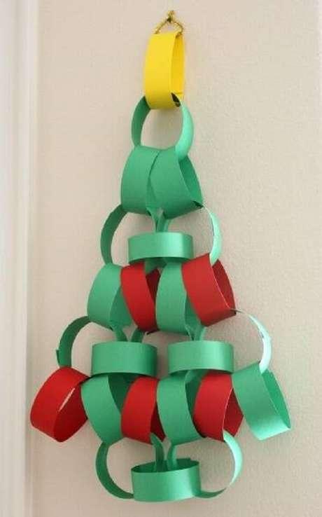 39- Árvore de Natal Artesanal de Papel
