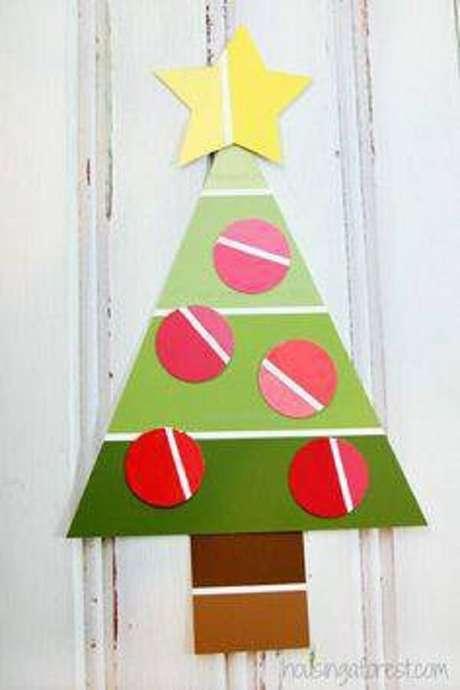 34- Artesanato de Natal : Um enfeite lindo para parede ou porta