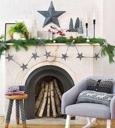 30- Você pode fazer uma decoração de Natal com tons neutros