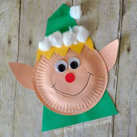 32- Que tal fazer um artesanato de Natal de gnomo? Lindo!