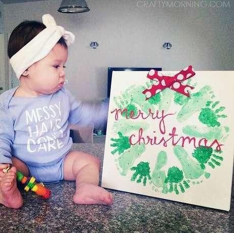 17- Olha que forma legal de presentar um ente querido ou guardar uma lembrança de Natal