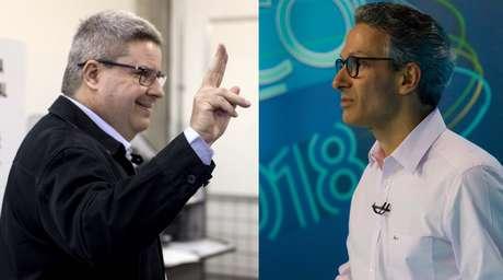 Candidatos ao governo de Minas Gerais: Antonio Anastasia (PSDB) e Romeu Zema (Novo)