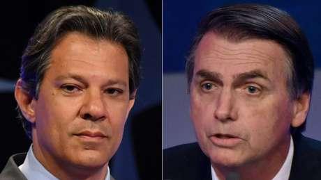 Haddad e Bolsonaro