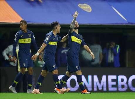 Benedetto marcou os gols do Boca