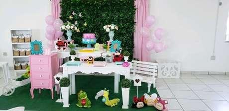 6. A decoração provençal também fica ótima nessa festa temática. Foto de Laís Art