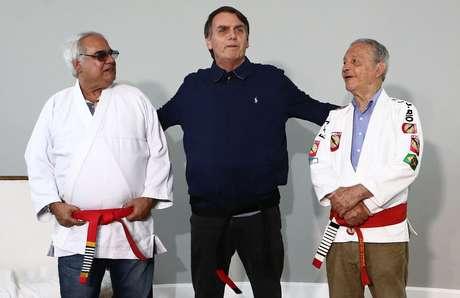 Bolsonaro teve encontro com mestre de jiu-jitsu nesta quinta-feira (25)