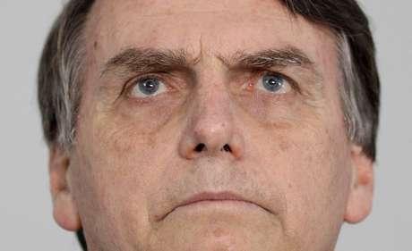 Jair Bolsonaro, durante coletiva de imprensa no Rio de Janeiro 25/10/2018 REUTERS/Ricardo Moraes