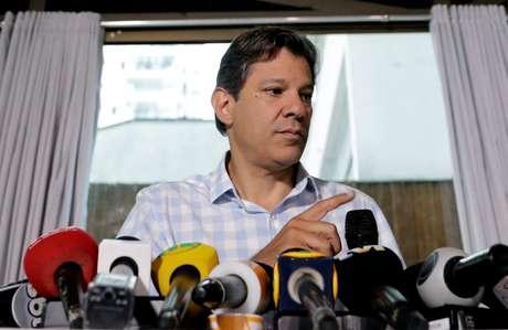O candidato do PT à Presidência, Fernando Haddad, derrotado por Jair Bolsonaro (PSL)