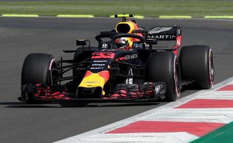 Verstappen no GP do México  26/10/2018    REUTERS/Andres Stapff