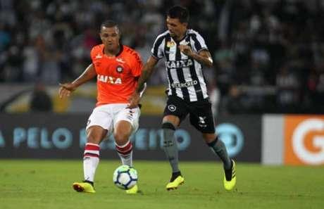 Último jogo: Botafogo 2 x 0 Atlético-PR - 13/6/2018