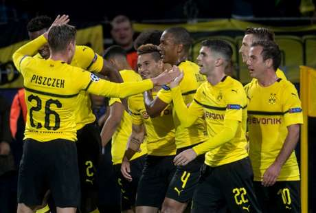 Dortmund bateu o Atlético de Madrid por 4 a 0 na última quarta-feira (Foto: AFP)
