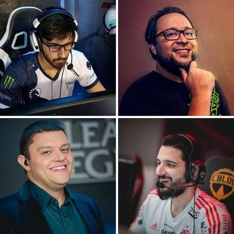 Zigueira, Gordox, Tiboco e brTT são algumas das personalidades do mundo do e-sports que estarão na GameCon, em Brasilía (DF)