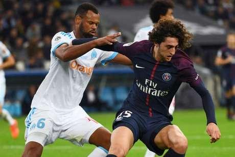 Última partida entre os dois terminou em vitória do PSG por 3 a 0 (Foto: Reprodução)