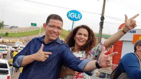 Governador eleito em Rondônia pelo PSL, Coronel Marcos Rocha na ultima carreata do2º turno em Porto Velho.