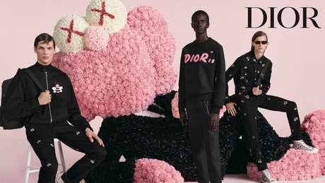 A campanha da Dior Homme que marca o lançamento da primeira coleção assinada por Kim Jones