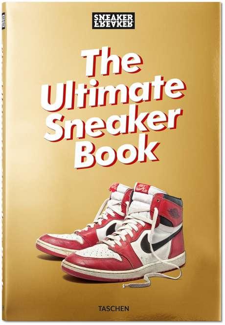 A capa de 'Sneaker Freaker', uma espécie de Bíblia dedicada aos tênis