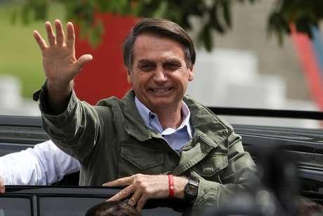 Bolsonaro, em seção eleitoral no Rio de Janeiro 28/10/2018 REUTERS/Pilar Olivares