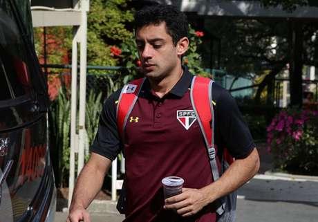 Meio-campista de 24 anos de idade estava emprestado pelo São Paulo ao São Bento (Foto: Rubens Chiri / São Paulo)